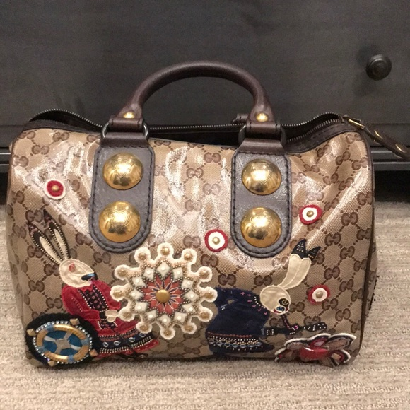 c81e2e154 Gucci Bags | 2008 Fable Babouska Boston Bag | Poshmark